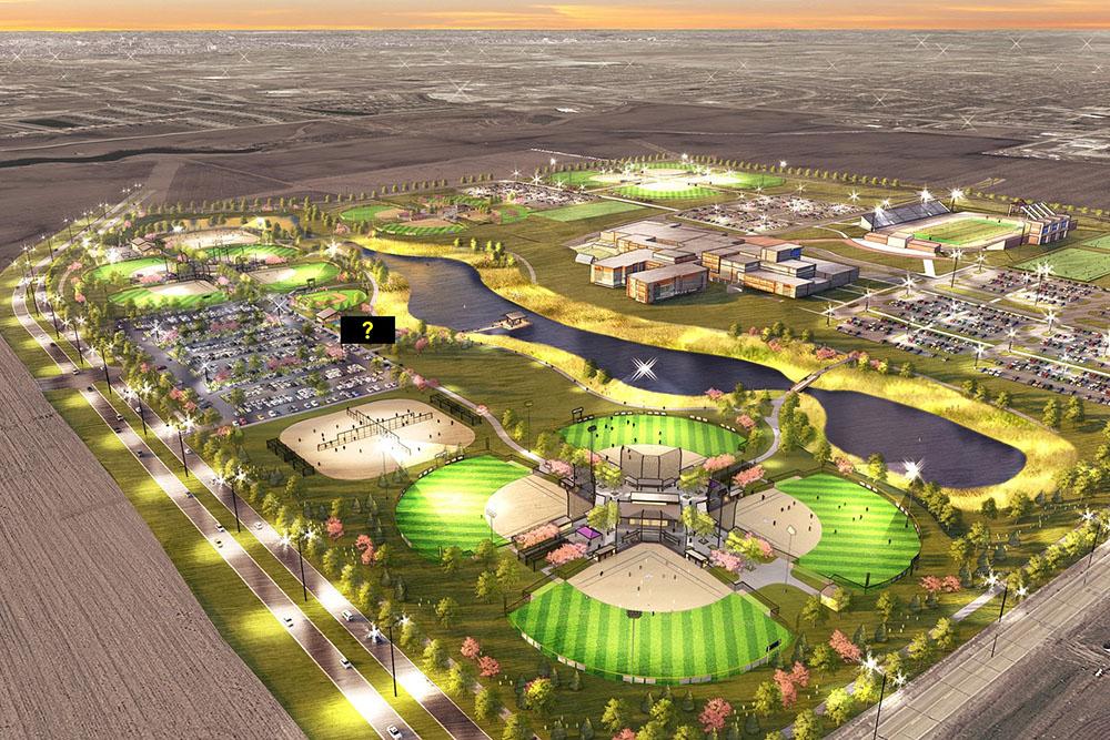 160 acre future Waukee development